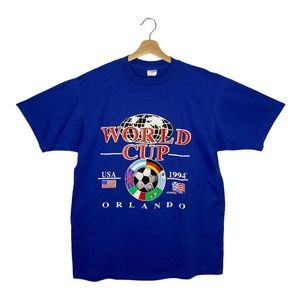 Vintage 1994 World-Cup Soccer T Shirt World Cup US